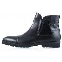 2260 DASTHON (Italy) Ботинки Осенние Черные