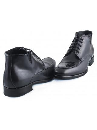 2258 DASTHON (Italy) Ботинки Осенние Черные