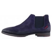 Ботинки осенние замшевые AMBITIOUS (Portugal) 2272 фиолетовые