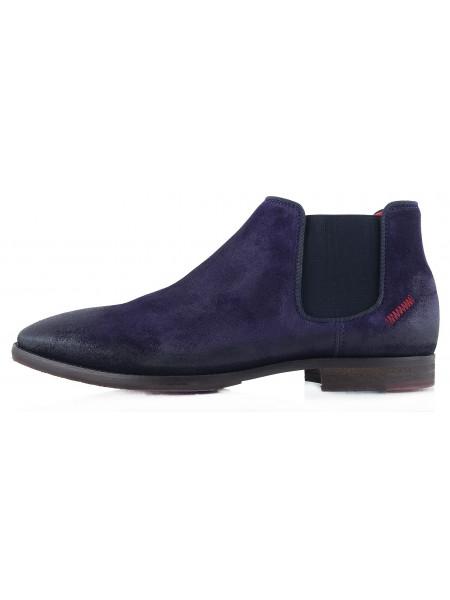 2272 AMBITIOUS (Portugal) Ботинки осенние замша фиолетовые