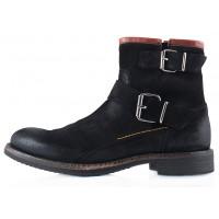 2275 AMBITIOUS (Portugal) Ботинки осенние замша черные