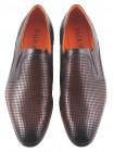 2279 BADURA (Poland ) Туфли Сетка Кожаные Коричневые на резинке
