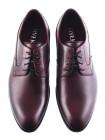 Туфли кожаные RYLKO (Poland ) 20005 бордовые