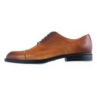 Туфли кожаные CONHPOL DYNAMIC (Poland ) 20013 светло-коричневые