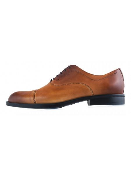 20013 CONHPOL (Poland ) Туфли кожаные светло-коричневые