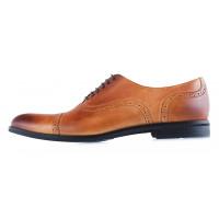 20020 CONHPOL (Poland ) Туфли кожаные светло-коричневые