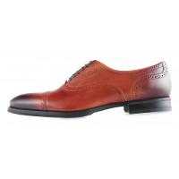 20033 CONHPOL (Poland ) Туфли кожаные коричневые