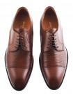 Туфли кожаные ADOLFO CARLI (ИТАЛИЯ) 20059 коричневые