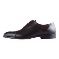 Туфли кожаные ADOLFO CARLI (ИТАЛИЯ) 20069 темно-коричневые