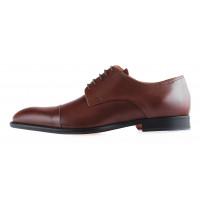 20071 ADOLFO CARLI (Italy) Туфли кожаные коричневые