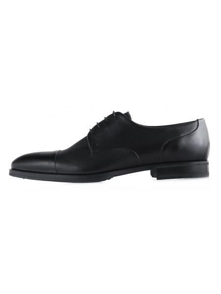 20090  CONHPOL (Poland ) Туфли кожаные черные