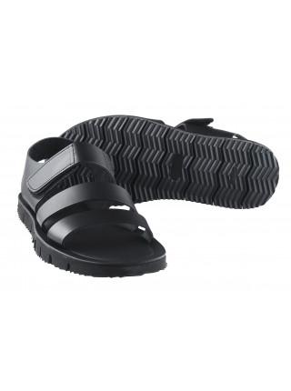 Сандали кожаные DANIELE POLIDORI (ИТАЛИЯ) 20119 черные