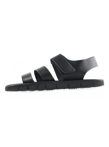 20119 DANIELE POLIDORI (Italy) Сандалии кожаные черные