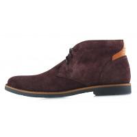 Ботинки осенние замшевые RYLKO (Poland ) 20136 коричневые