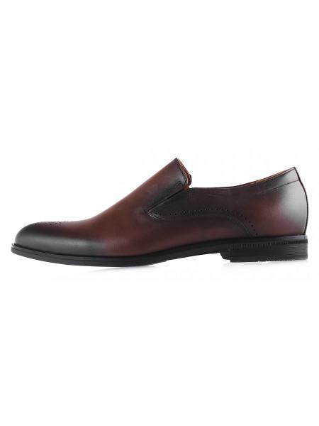 20139 CONHPOL (Poland ) Туфли кожаные коричневые