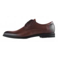 Туфли кожаные CONHPOL DYNAMIC (Poland ) 20140 коричневые