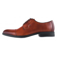20144 CONHPOL (Poland ) Туфли кожаные коричневые