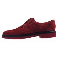 20154 CONHPOL (Poland ) Туфли замшевые бордовые
