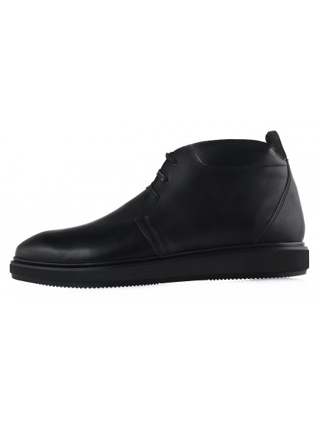 20172 CONHPOL (Poland ) Ботинки осенние кожаные черные