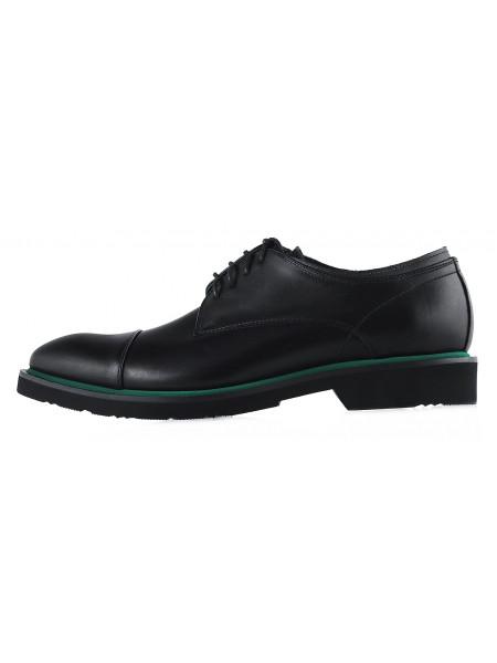 20180 CONHPOL (Poland ) Туфли осенние кожаные черные