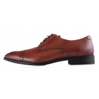 20188 ADOLFO CARLI (Italy) Туфли кожаные коричневые