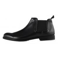 20190 ADOLFO CARLI (Italy) Ботинки осенние кожаные черные