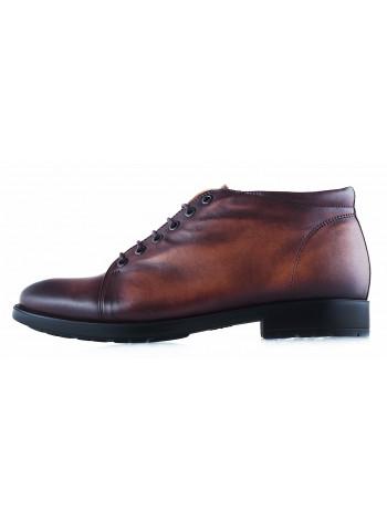 Ботинки зимние кожаные CONHPOL DYNAMIC (Poland ) 20204 темно-коричневые