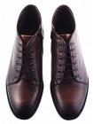 Ботинки осенние кожаные CONHPOL DYNAMIC (Poland ) 20205 темно-коричневые