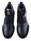 Ботинки-спорт осенние кожано-замшевые BEFEETGERALD (Portugal) 20220 темно-синие
