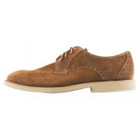 Туфли замшевые CONHPOL DYNAMIC (Poland ) 20237 коричневые