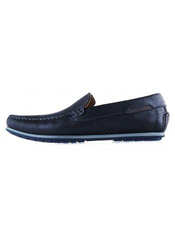 Мокасины кожаные сетка сквозная SALAMANDER (Обувь) (Germany) 20268 черные