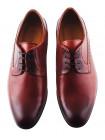 Туфли кожаные CONHPOL DYNAMIC (Poland ) 20273 рыжие