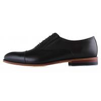 Туфли кожаные CONHPOL DYNAMIC (Poland ) 20274 темно-коричневые