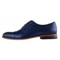 Туфли кожаные CONHPOL DYNAMIC (Poland ) 20277 синие