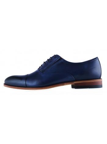 20277 CONHPOL (Poland ) Туфли кожаные синие