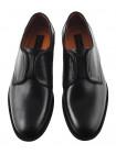 20281 CONHPOL (Poland ) Туфли кожаные на резинке черные