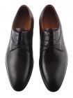 Туфли кожаные CONHPOL DYNAMIC (Poland ) 20282 темно-коричневые