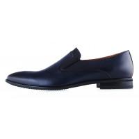 Туфли кожаные CONHPOL DYNAMIC (Poland ) 20286 синие
