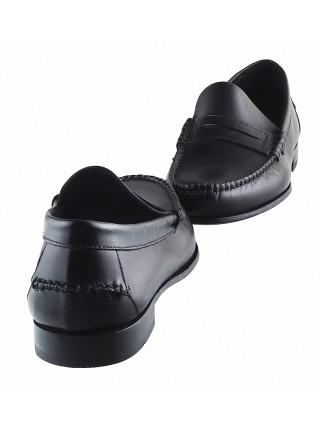 Пенилоферы кожаные D.LEPORI (ИТАЛИЯ) 20337 черные