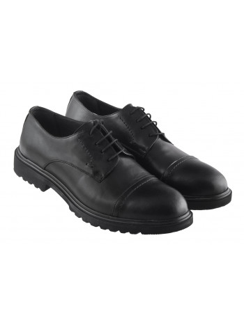 Туфли кожаные ALBA (Turkey) 20345 черные