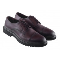 20346 ALBA (Turkey) Туфли кожаные темно-коричневые