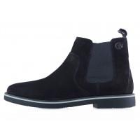 Ботинки осенние замшевые S.OLIVER (Germany) 20371 черные