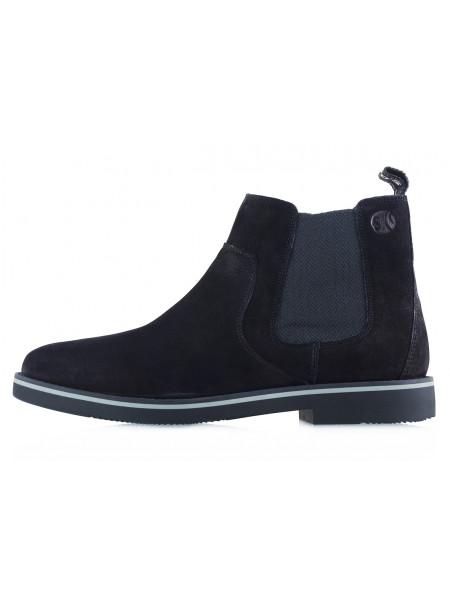 20371 S.OLIVER (Germany) Ботинки осенние нубук черные