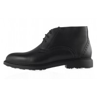 Ботинки осенние кожаные CONHPOL DYNAMIC (Poland ) 20380 черные