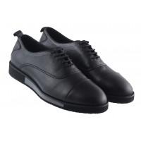 Туфли-спорт кожаные SAIL LAKERS (Turkey) 20387 черные