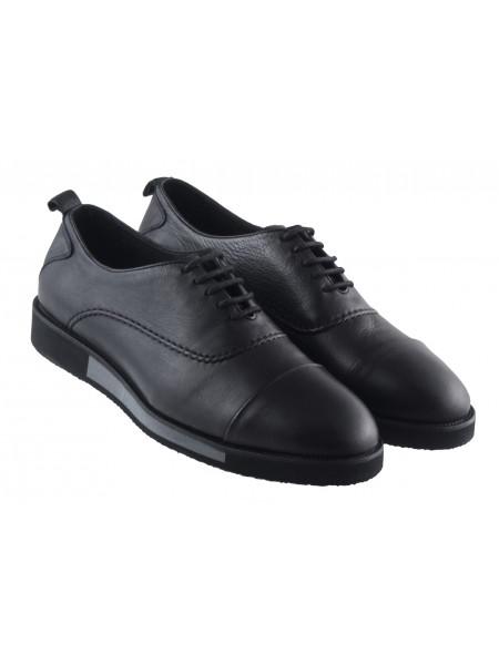 20387 SAIL LAKERS (Turkey) Туфли-спорт кожаные черные