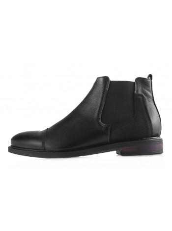Ботинки осенние кожаные RYLKO (Poland ) 20403 черные