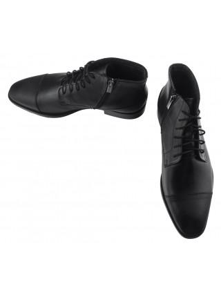 Ботинки осенние кожаные RYLKO (Poland ) 20405 черные