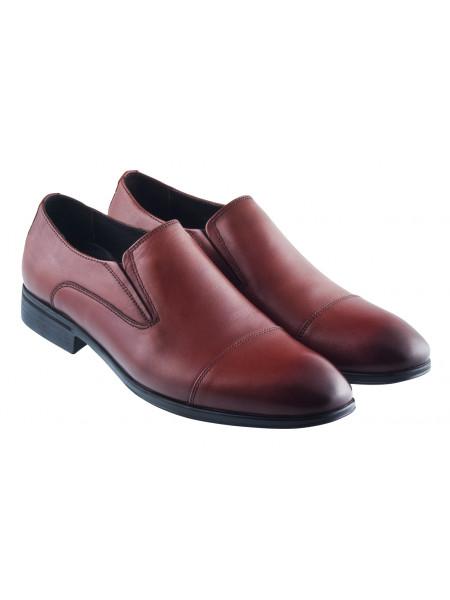 20410 DR. JELLS (Turkey) Туфли кожаные коричневые