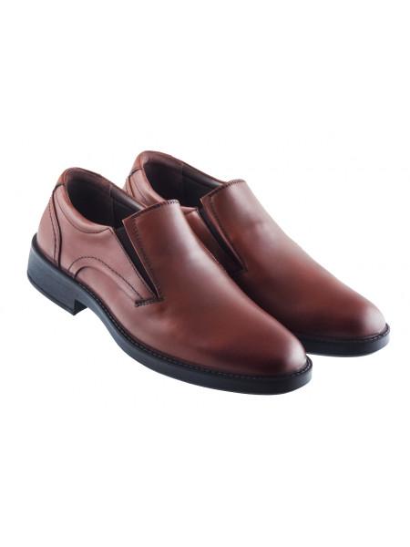 20416 ESSE (Turkey) Туфли кожаные коричневые